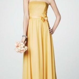 ALFRED ANGELO YELLOW PROM/FORMAL GOWN SIZE 10